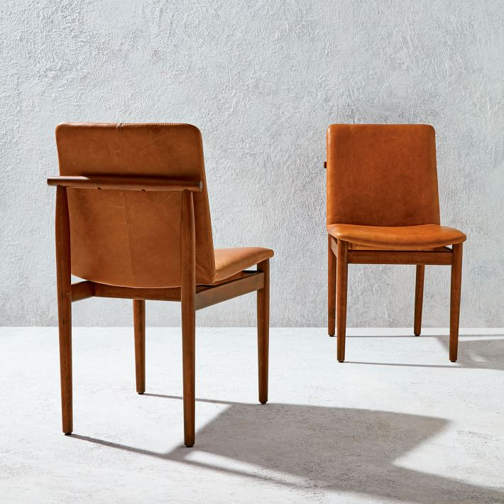 wood frame dining chairs