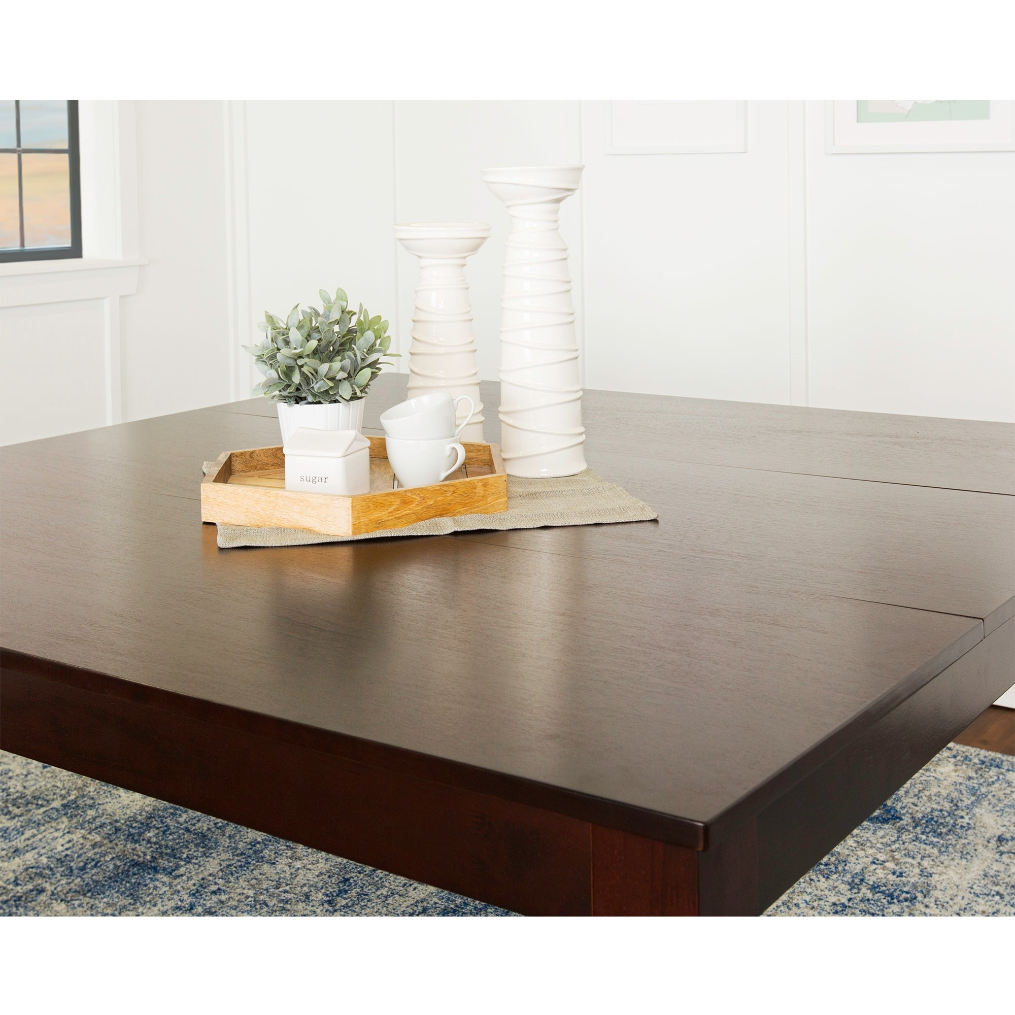 60 x 60 square dining table