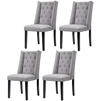 amazon white dining chairs