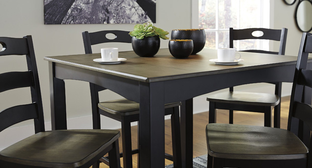 maysville dining room table and chairs set of 5