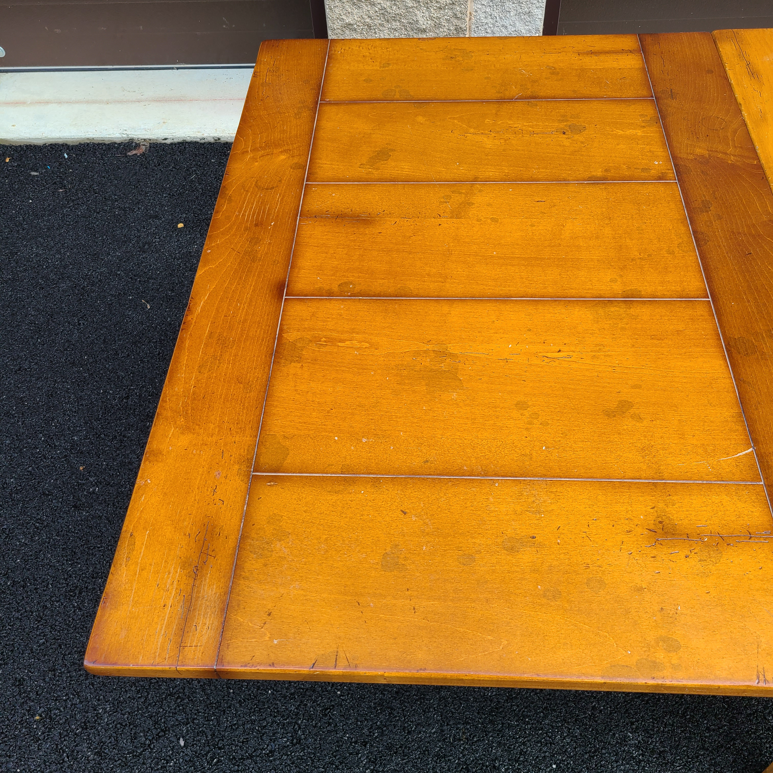 baker milling road dining table