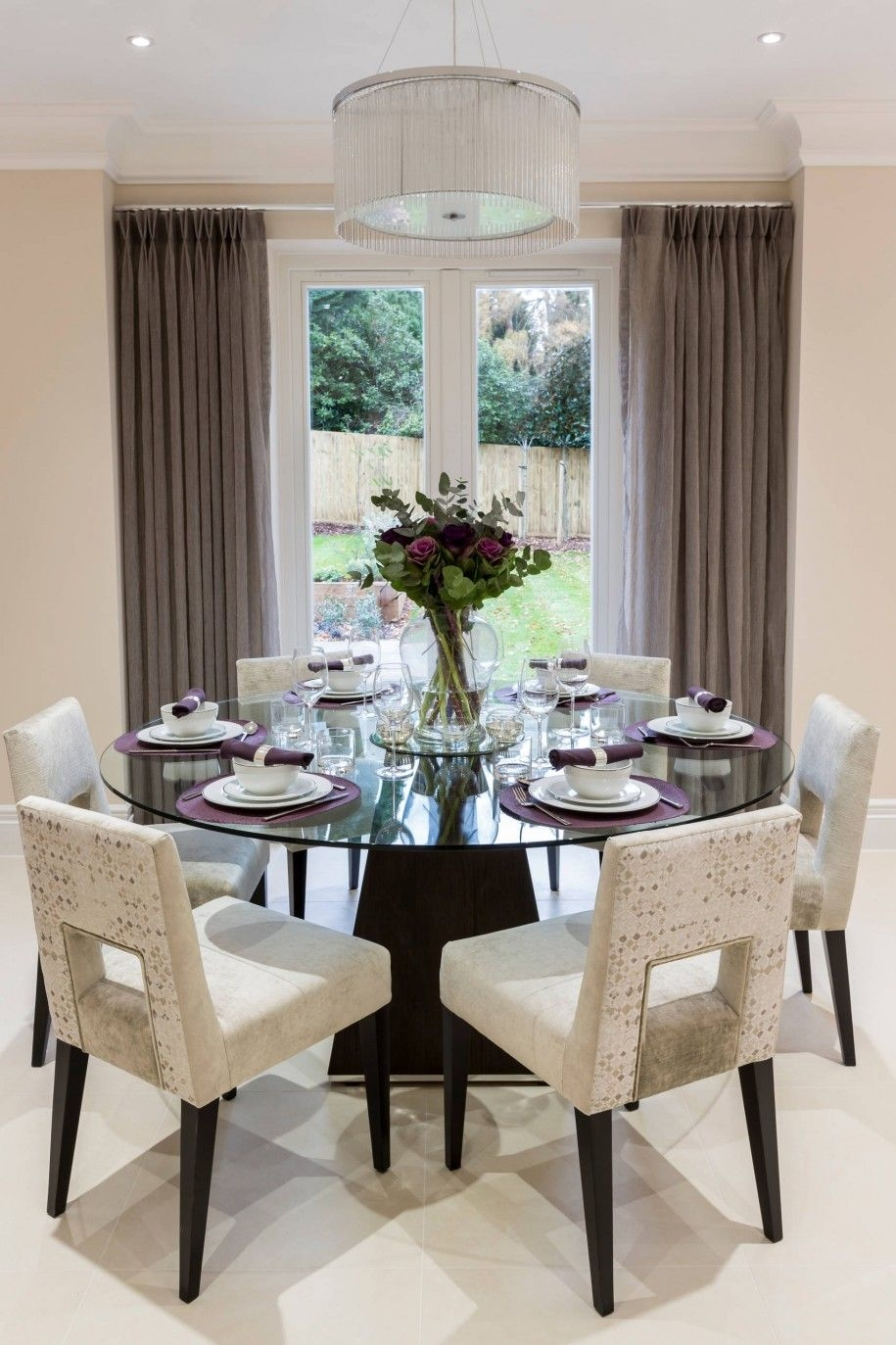 elegant placemats dining table