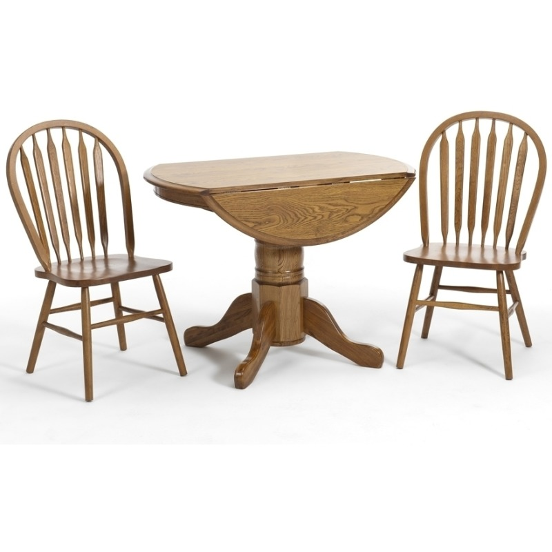 oak arrowback dining chairs