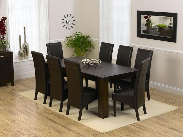 dining tables with 8 chairs