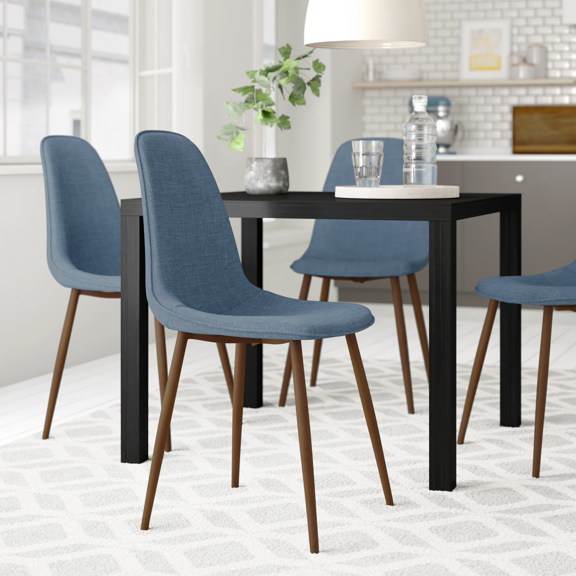 upholstered side dining chairs