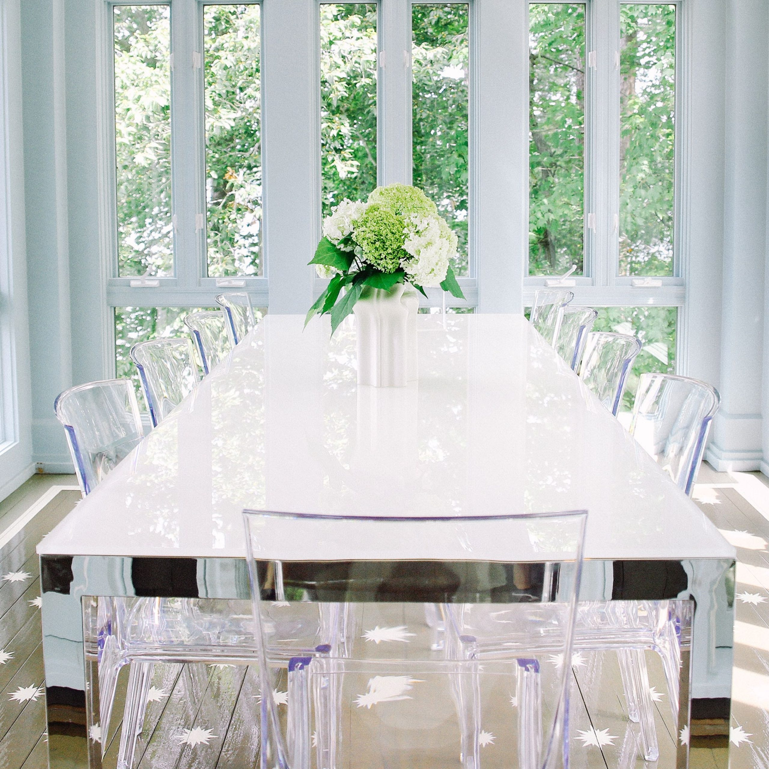 mitchell gold dining table