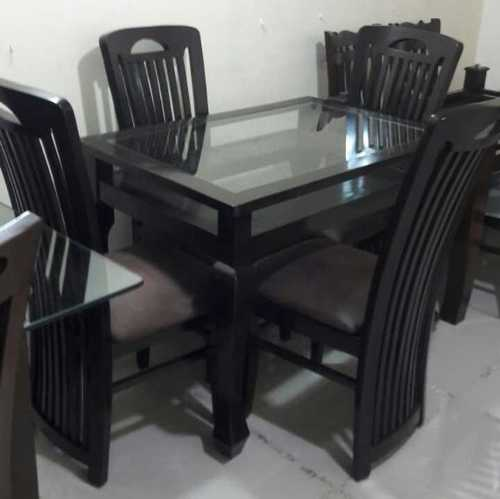 modular dining table and chairs