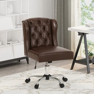 upholstered wingback office chair