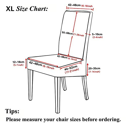 extra large dining chair slipcovers
