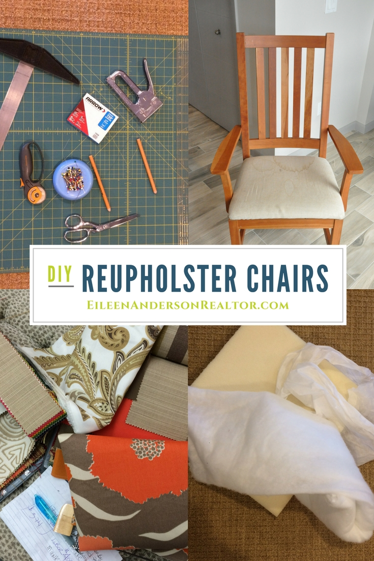 reupholster dining chair cost