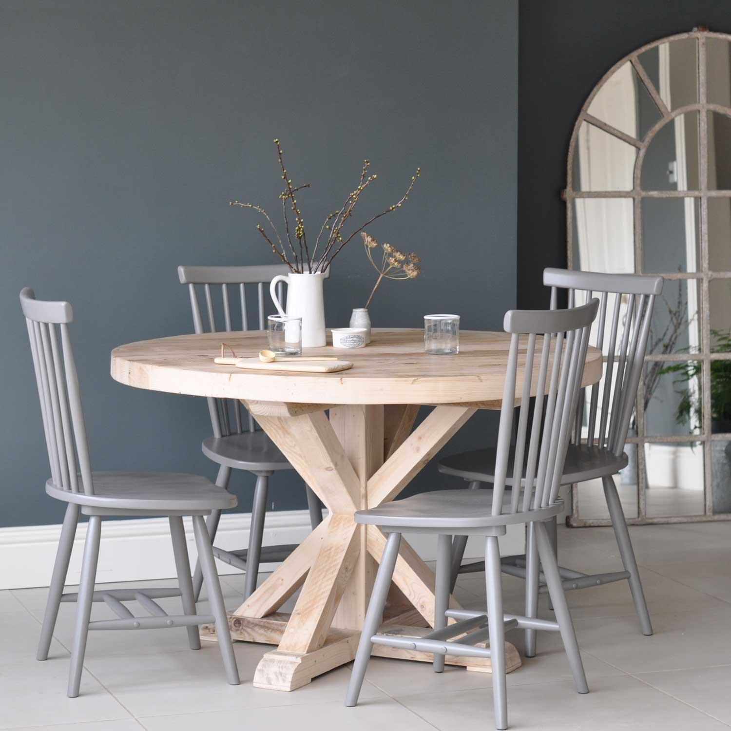 reclaimed wood dining table uk