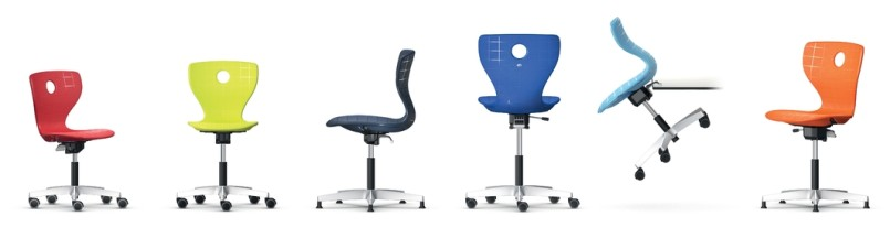 non adjustable office chair