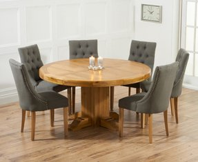 circular dining table for 6