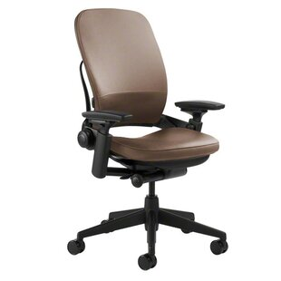 saddle leather office chair
