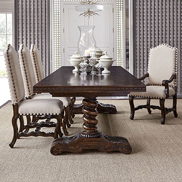 120 dining room table