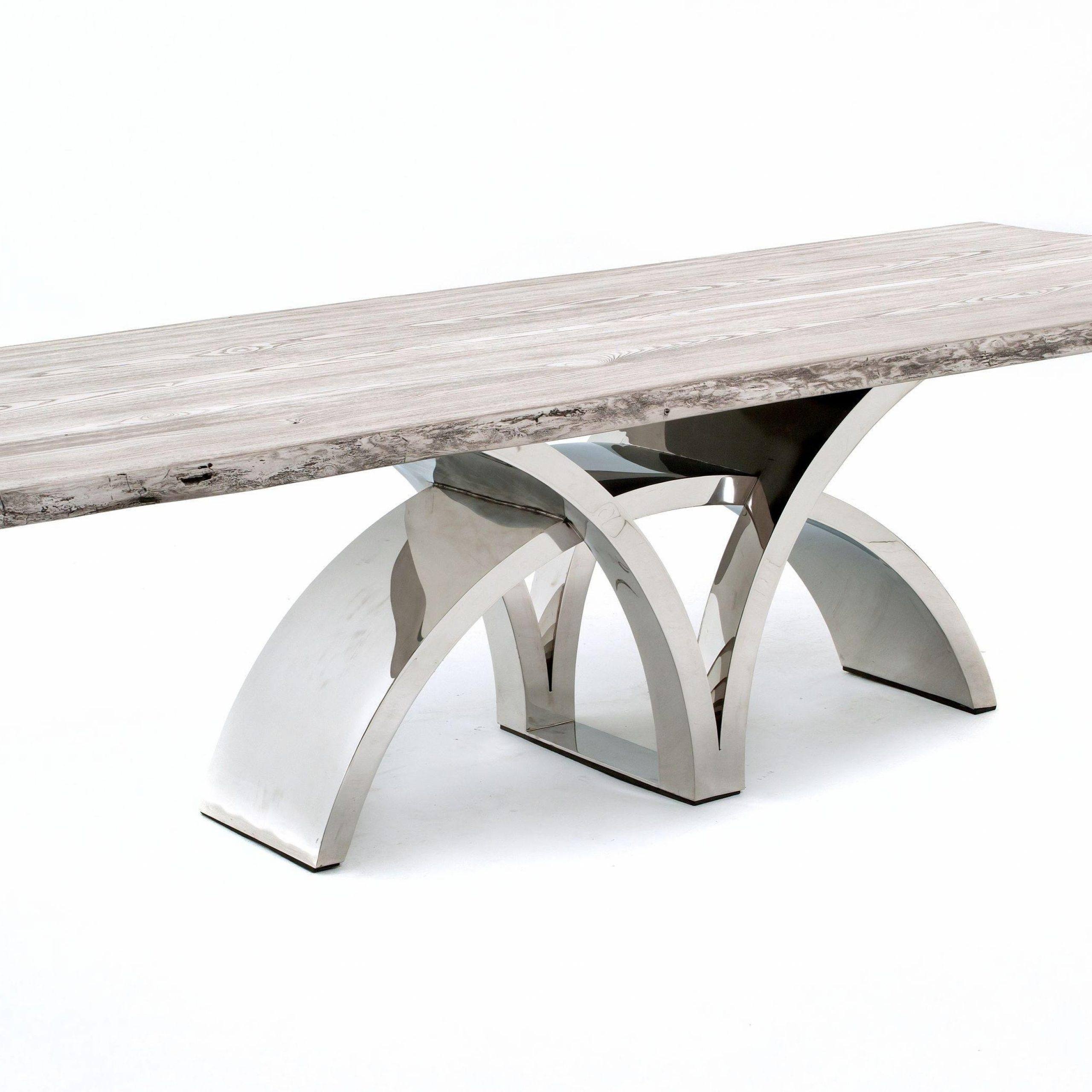 contemporary dining table bases