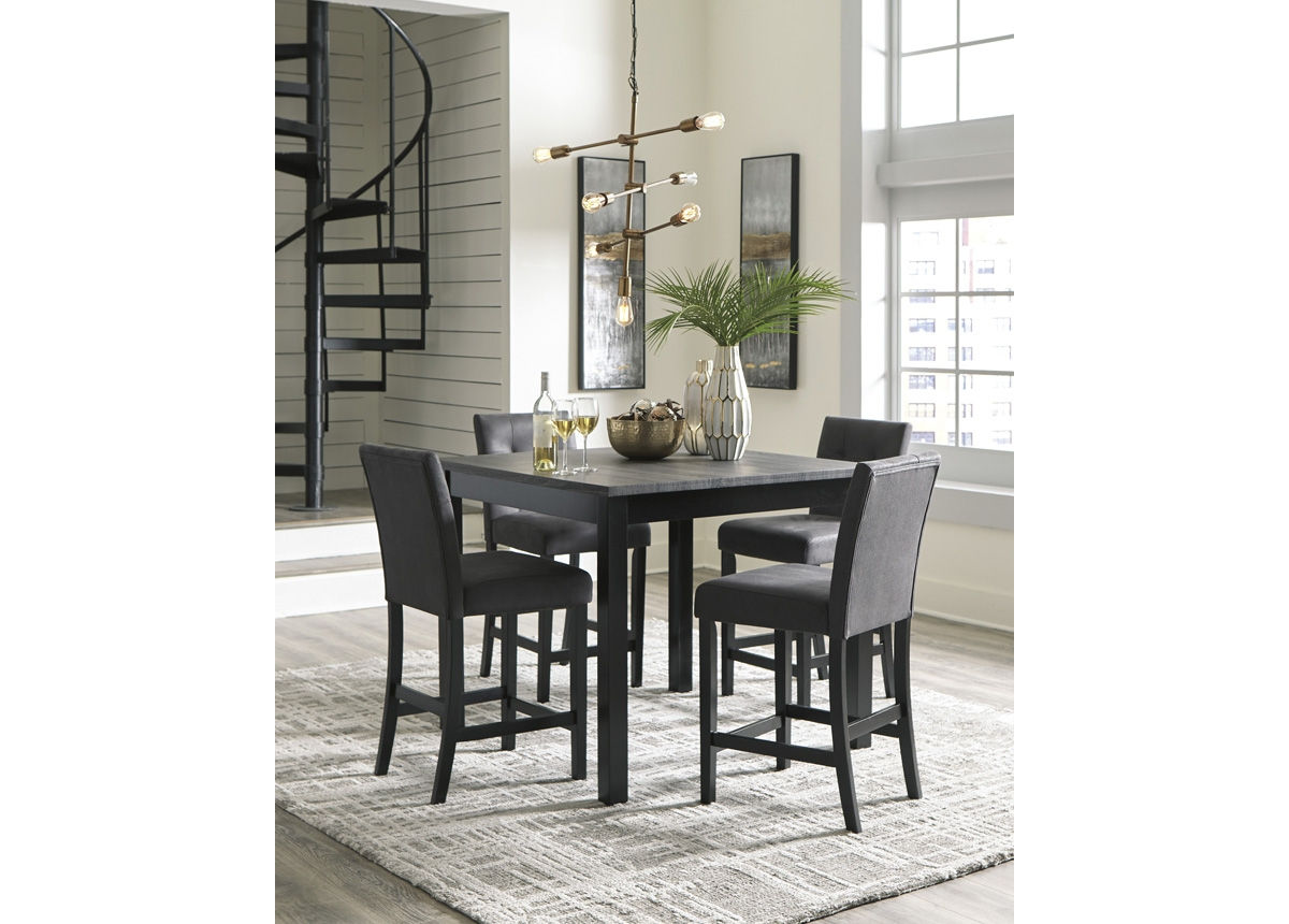 high dining table chairs