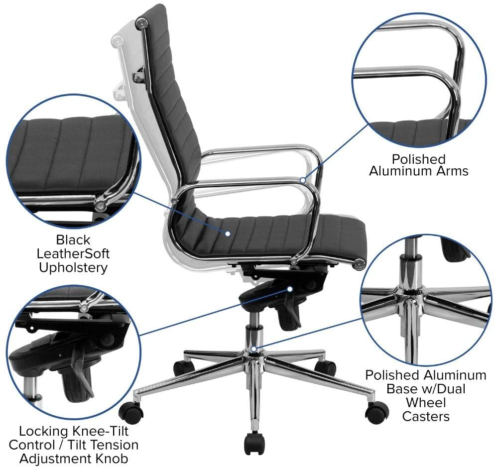 office chair adjustment knobs