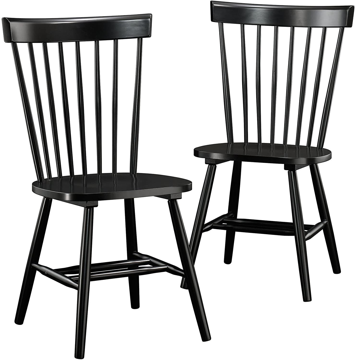 black windsor dining chairs