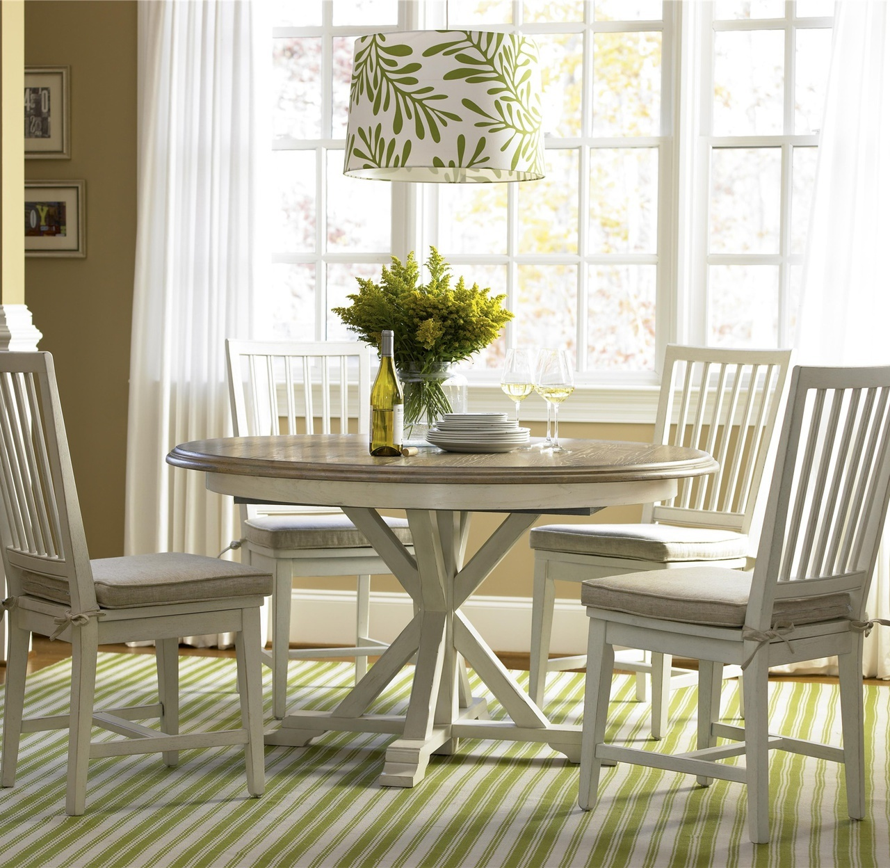 coastal dining table and chairs