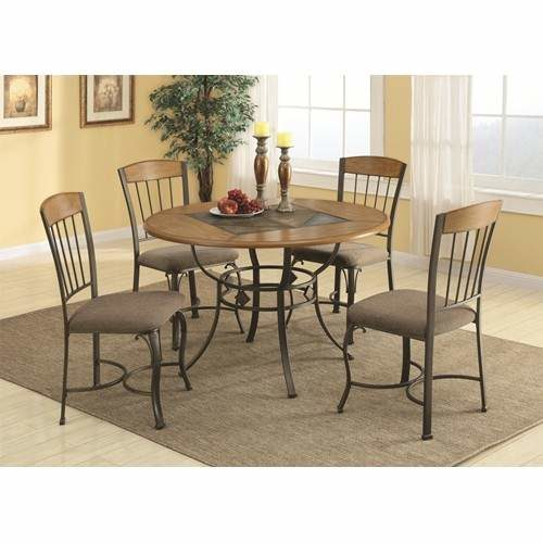slate top dining table set