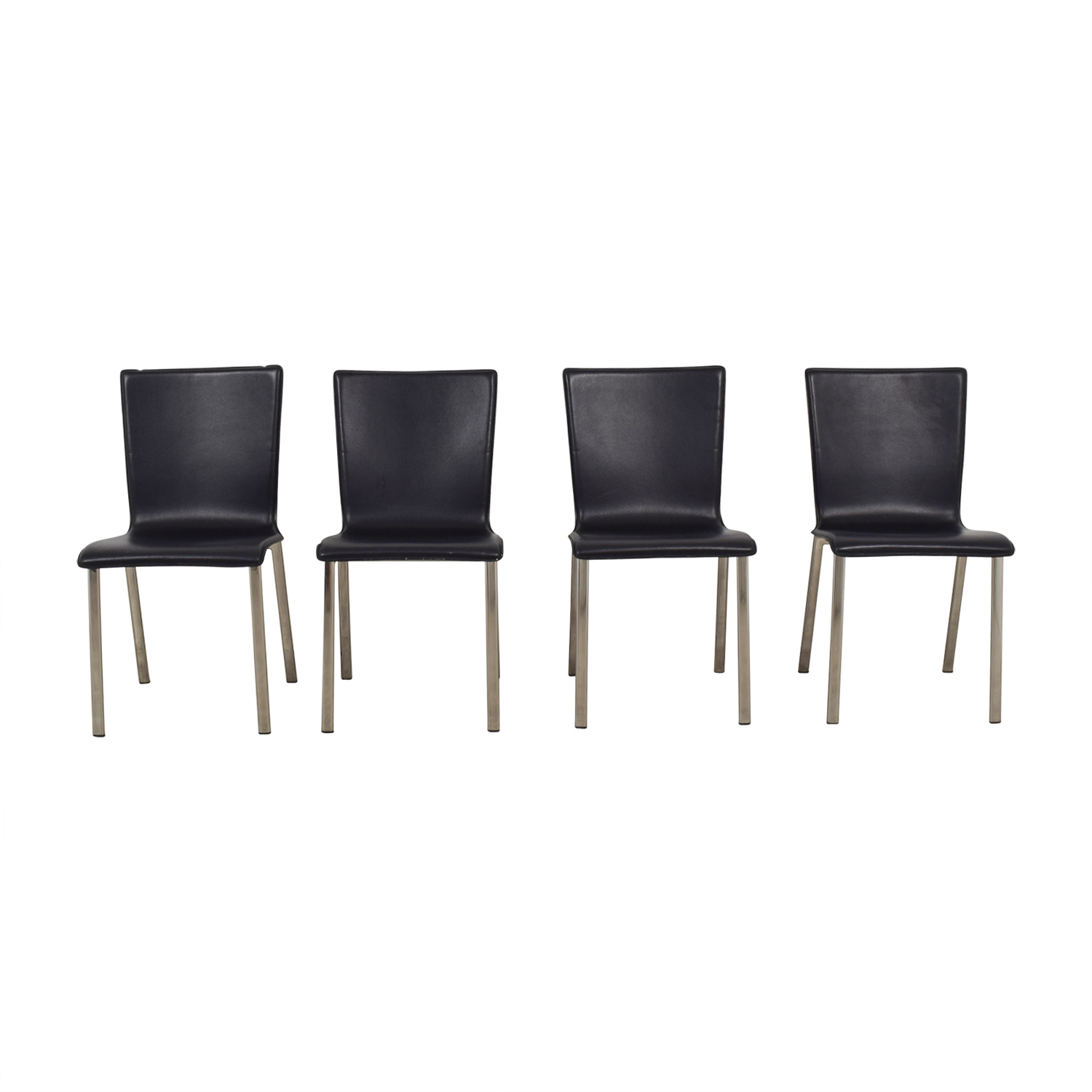 ikea leather dining chairs