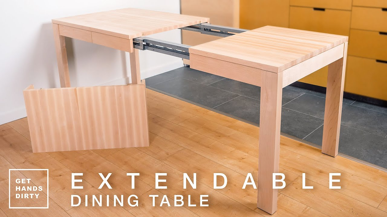 square extending dining table and chairs