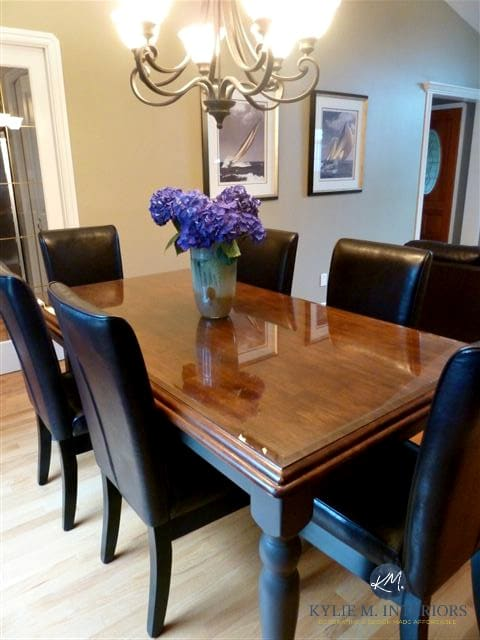 maple dining table chairs