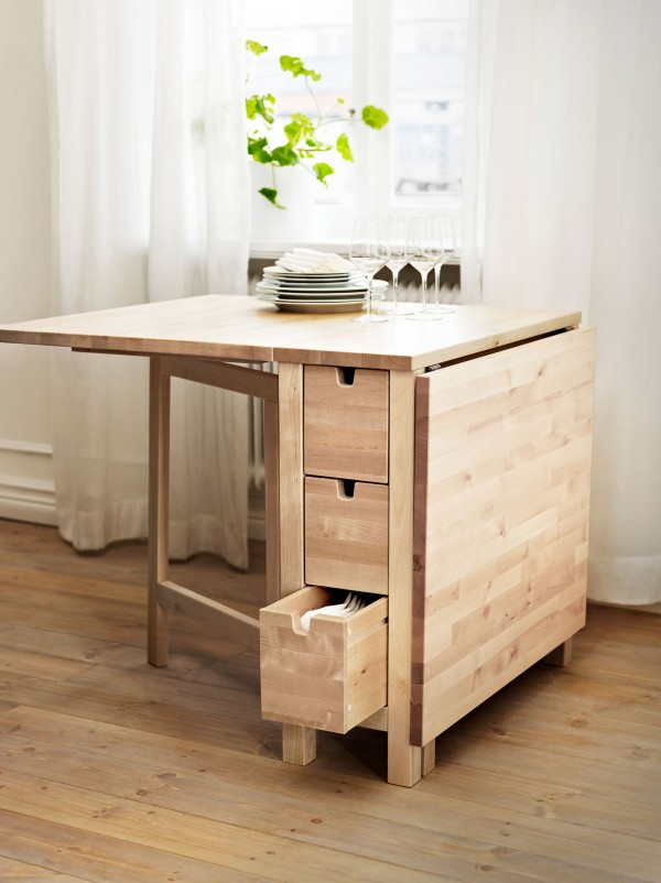 expandable dining table ikea
