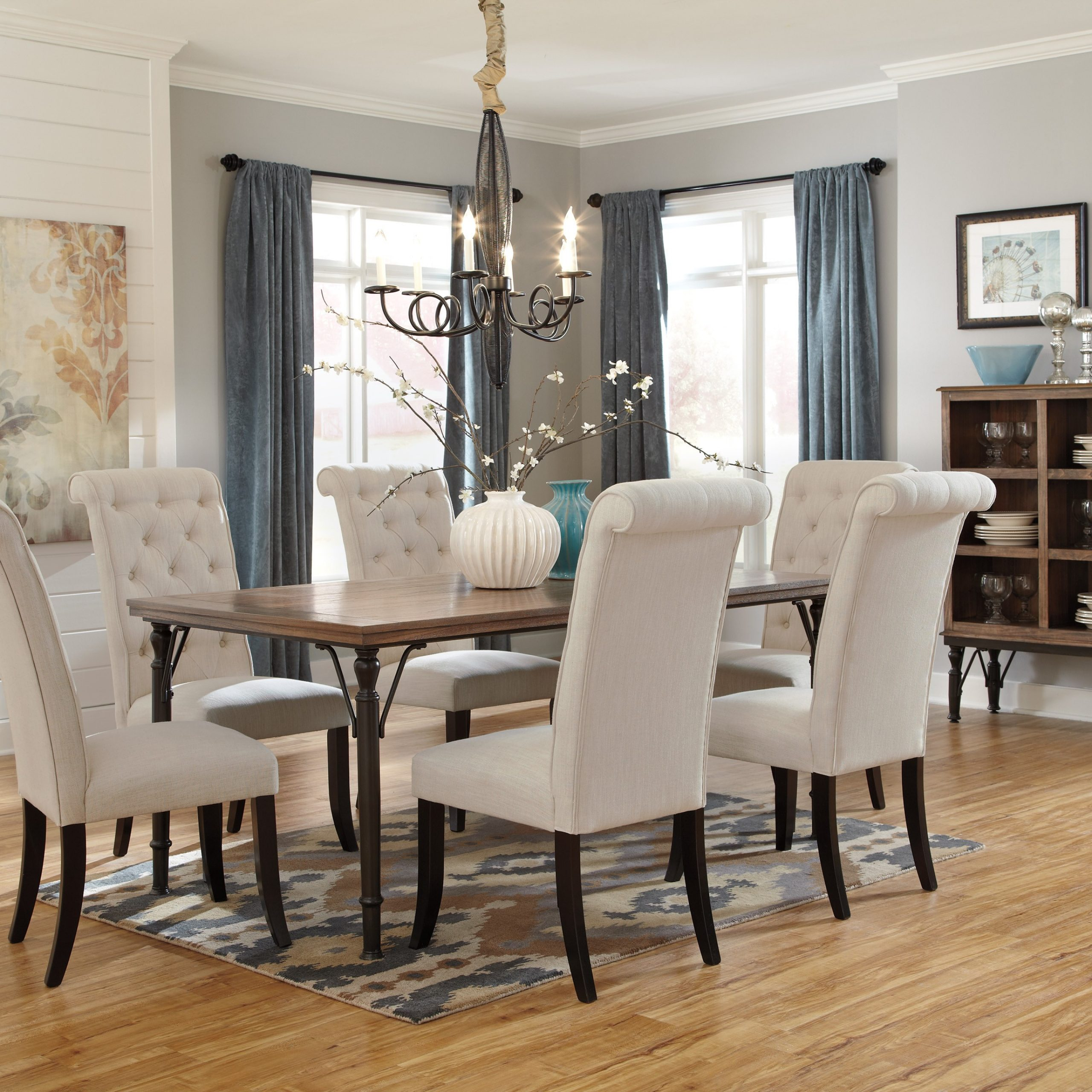 fancy dining table chairs