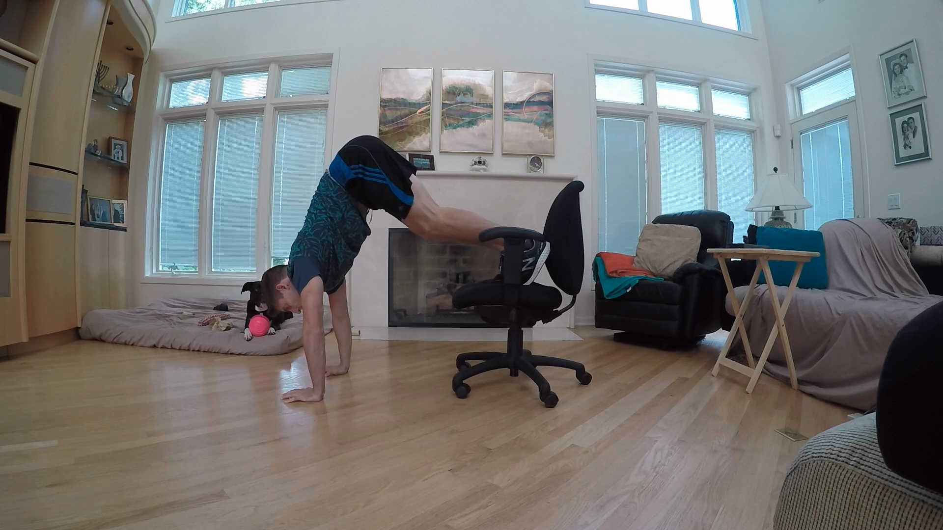 office chair workout