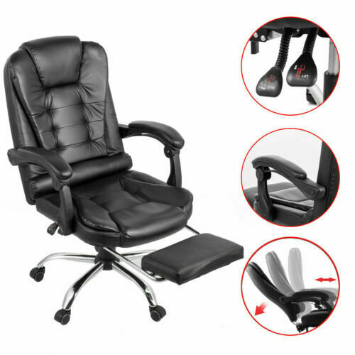 best reclining office chair with footrest