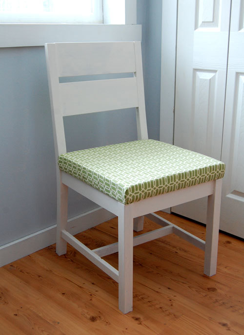 wood dining chair plans