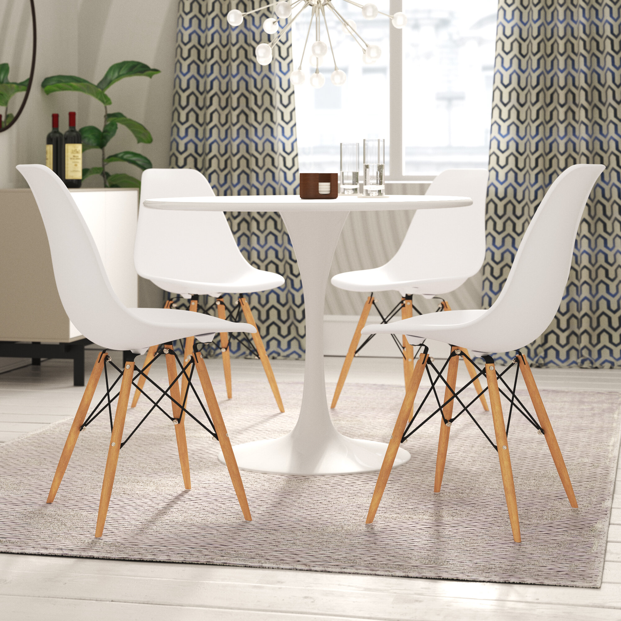 modern chairs for dining table