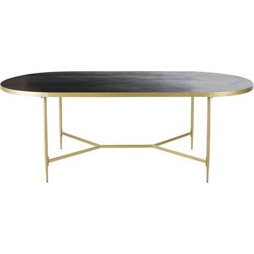 oval dining table seats 10