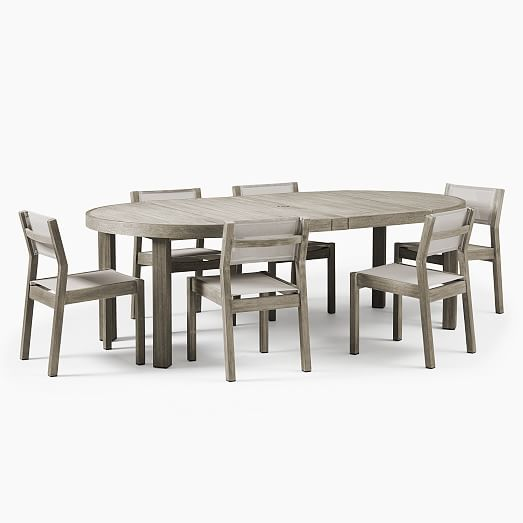 expanding round dining room table