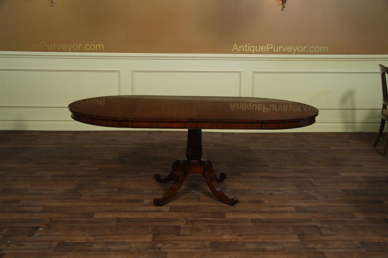 44 inch round dining table with leaf