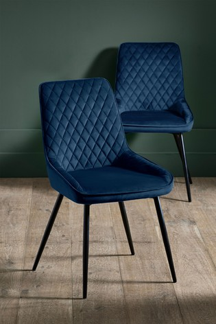 navy blue dining chairs