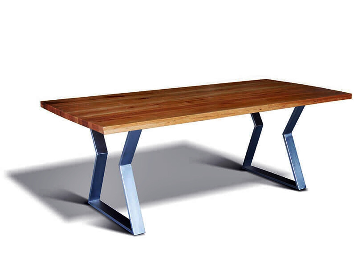 heavy solid wood dining table