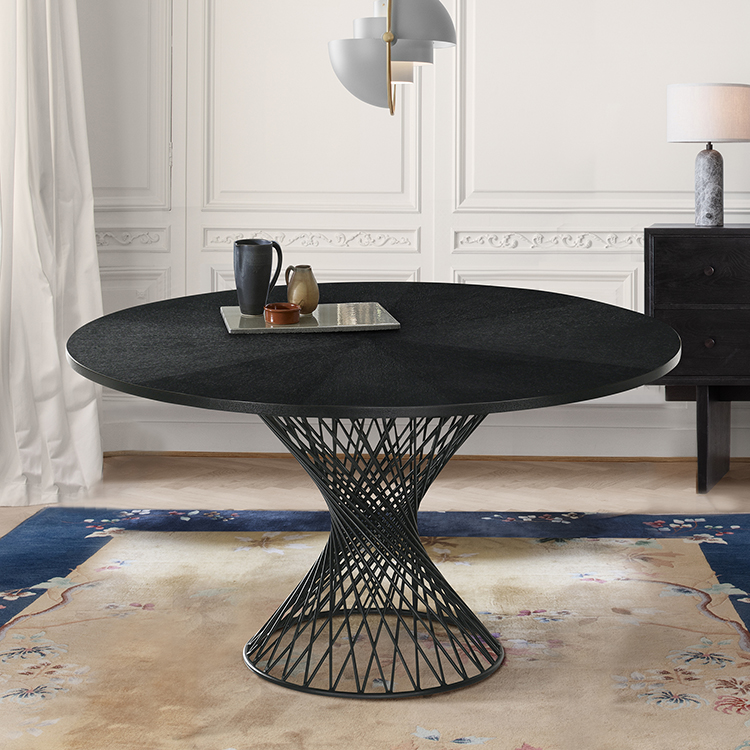 54 pedestal dining table