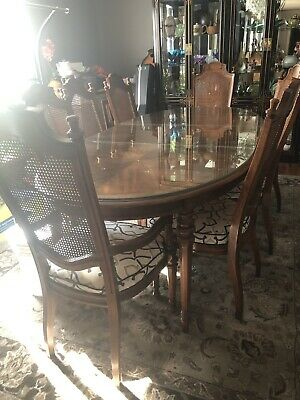 heritage dining table and chairs