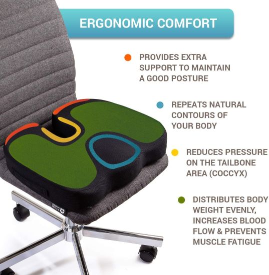 office chair cushion for back pain
