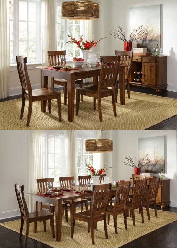 solid wood dining tables for sale