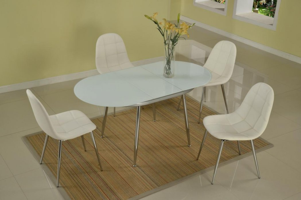 dining table frosted glass table top