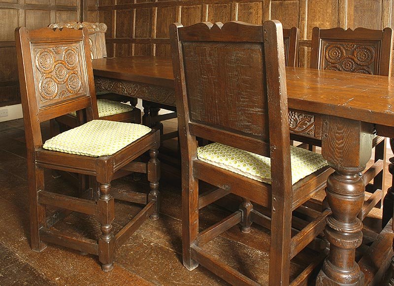 tudor style dining chairs