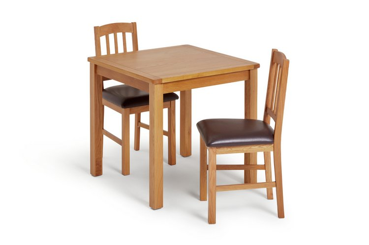 2 chair dining room set