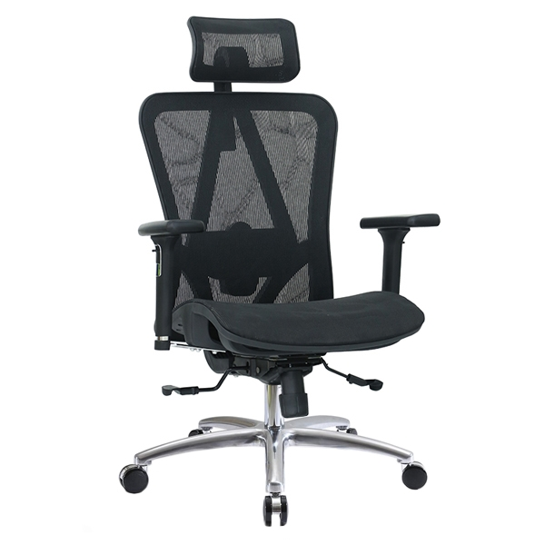 mesh office chair with mesh seat