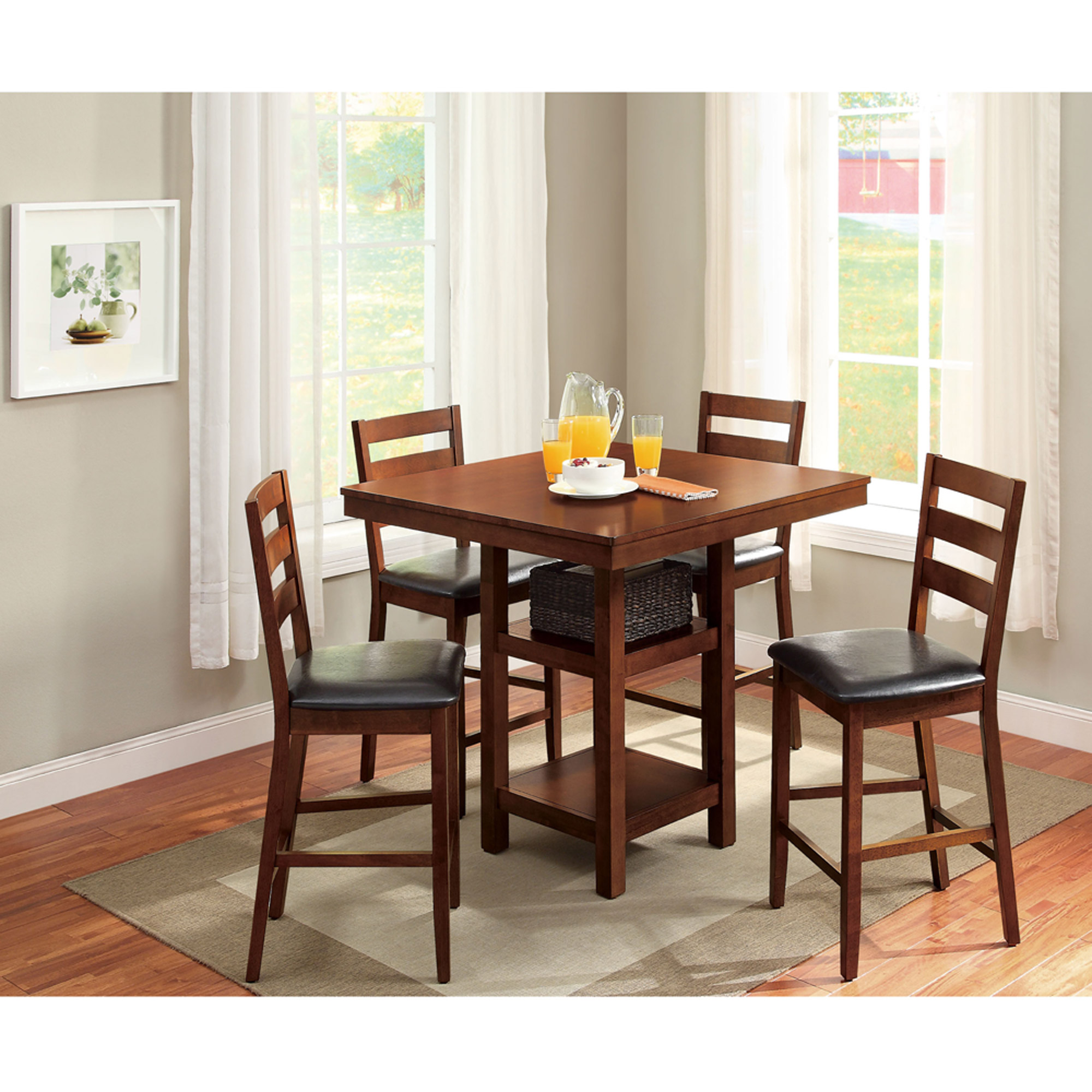 counter high dining chairs