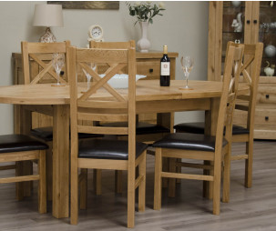 oval extension dining room tables