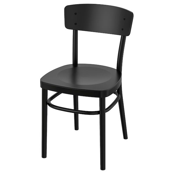 black dining table and chairs ikea